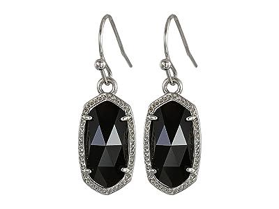 Kendra Scott Lee Earring (Rhodium/Black) Earring