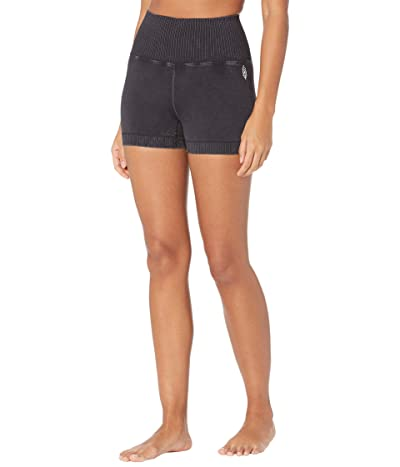 FP Movement Good Karma Running Shorts (Washed Black) Women