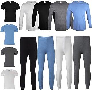 comfyfit Men's Thermal Set Long Sleeve Warm Underwear Base Layer Trousers