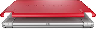 Brydge Slimline Protective Case for Apple iPad 6th Generation, iPad 5th Gen, iPad Air 1 | Harden Polycarbonate with Silicone Coating | Integrates with Brydge 9.7 Wireless Keyboard (Red)