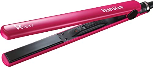 SYSKA HS6810 Hair Straightener (Pink)