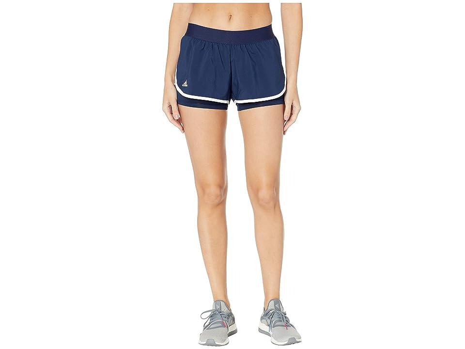 adidas Club Shorts (Collegiate Navy) Women's Shorts