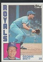 1984 Topps George Brett Royals Baseball Card #500