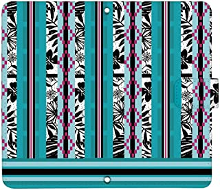 OPPO A73 ケース [デザイン:18.ターコイズボヘミアン/マグネットハンドあり] 秋コレクション オッポ 楽天モバイル a73 手帳型 スマホケース スマホカバー 手帳 携帯 カバー