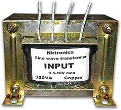 Nktronics 900va 600watt 12 Volt sinewave Inverter Transformer with Charging Function for All sinewave Inverter Board (Alum...
