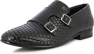 Alberto Torresi Men's Arbon Black Formal Shoes