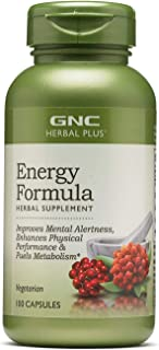 GNC Herbal Plus Energy Formula (100 Capsules)