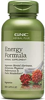 GNC Herbal Plus Energy Formula (100 Capsules)