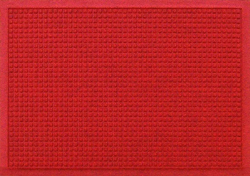 労苦維持キノコクリーンテックス?ジャパン(Kleen-Tex) 吸水玄関マット ウォーターホースT レッド 62×88cm AC00032