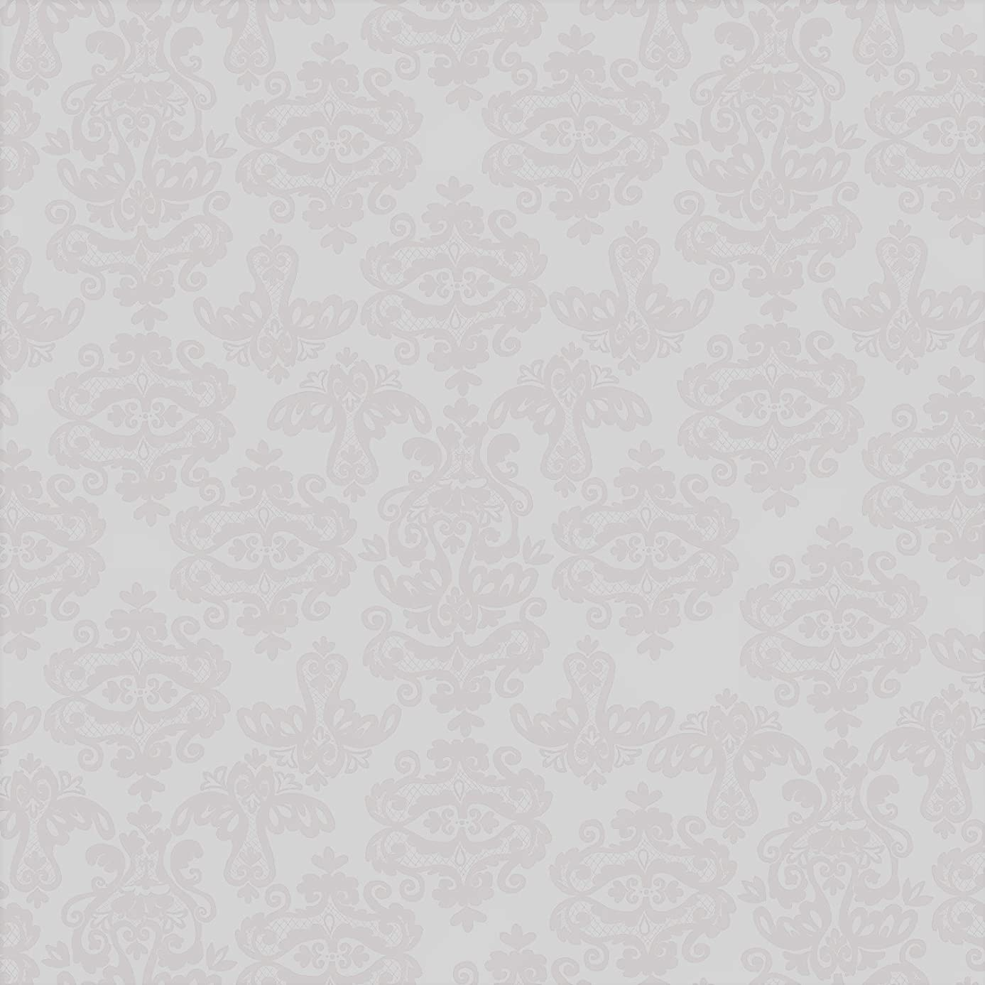 Jillson Roberts 6 Roll-Count Premium Gift Wrap Available in 16 Designs, Damask Gold