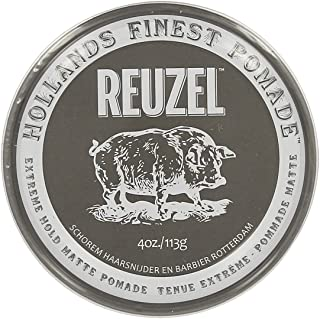 ルーゾー Reuzel Extreme Hold Matte Pomade 113 g [並行輸入品]