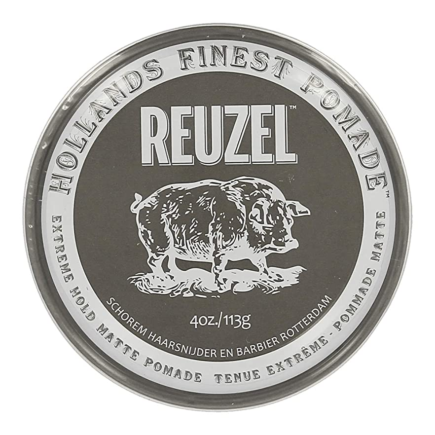 具体的に自由発明ルーゾー Reuzel Extreme Hold Matte Pomade 113 g [並行輸入品]