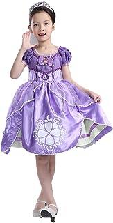 プリンセスなりきり 子供 ドレス キッズ 子ども お姫様 ワンピース お姫様ドレス 女の子 なりきり キッズドレス ちいさなプリンセス ソフィア (150サイズ)