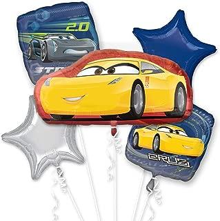 Anagram Disney Cars 3 Cruz Jackson Bouquet of Balloons
