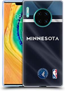 Official NBA Road Jersey 2018/19 Minnesota Timberwolves Soft Gel Case Compatible for Huawei Mate 30 Pro / 5G