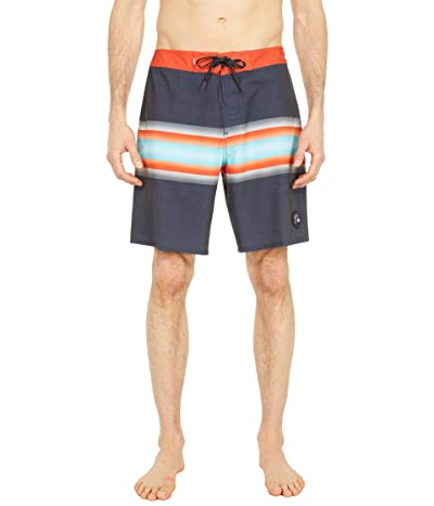 Quiksilver Highline Six Channel 19 Boardshorts (Parisian Night) Men