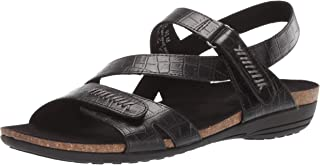 Easy Street Women's Winnie Casual Sandal with Hook and Loop Closures