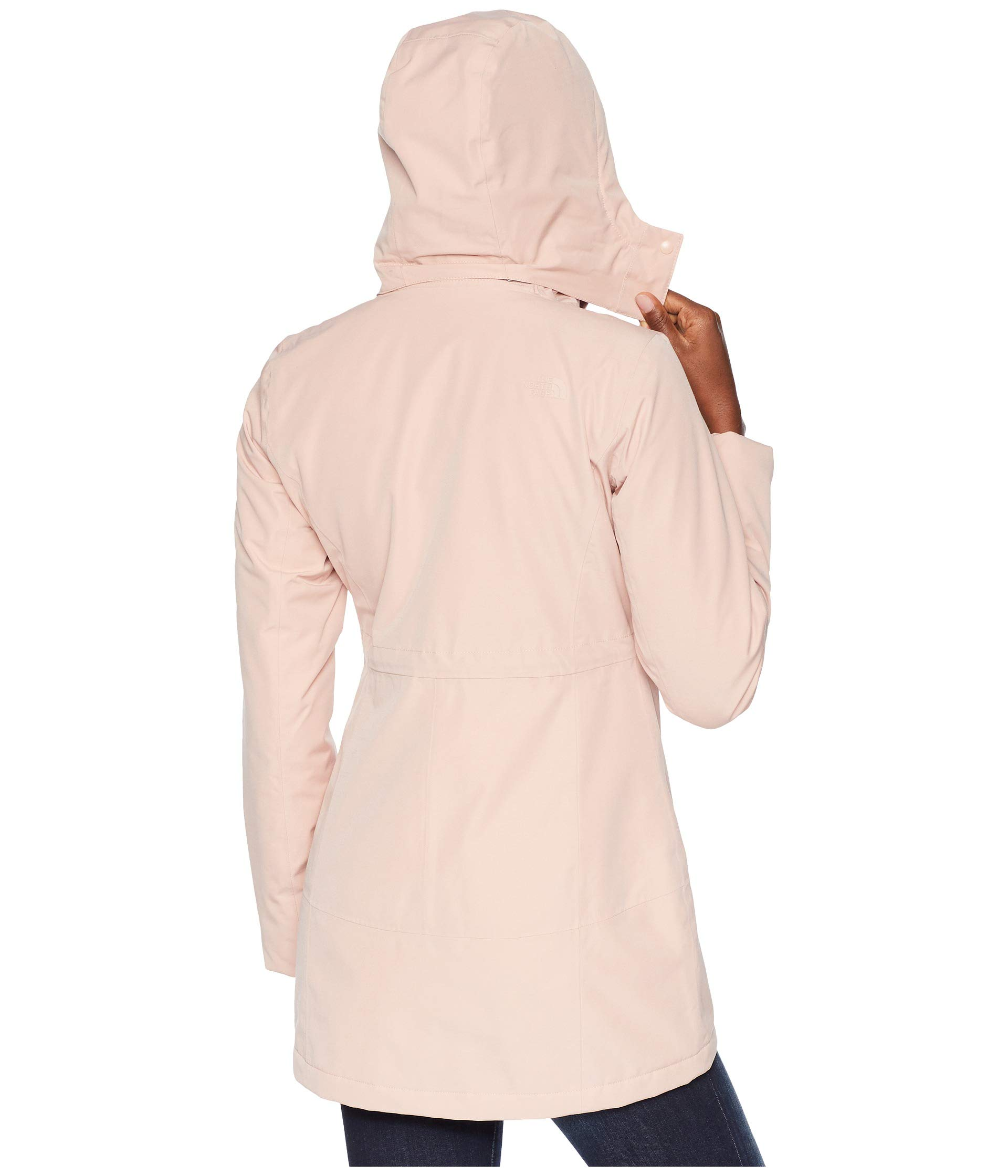 North Ancha The Ii Parka Insulated Rose Face Misty dqUrPUt