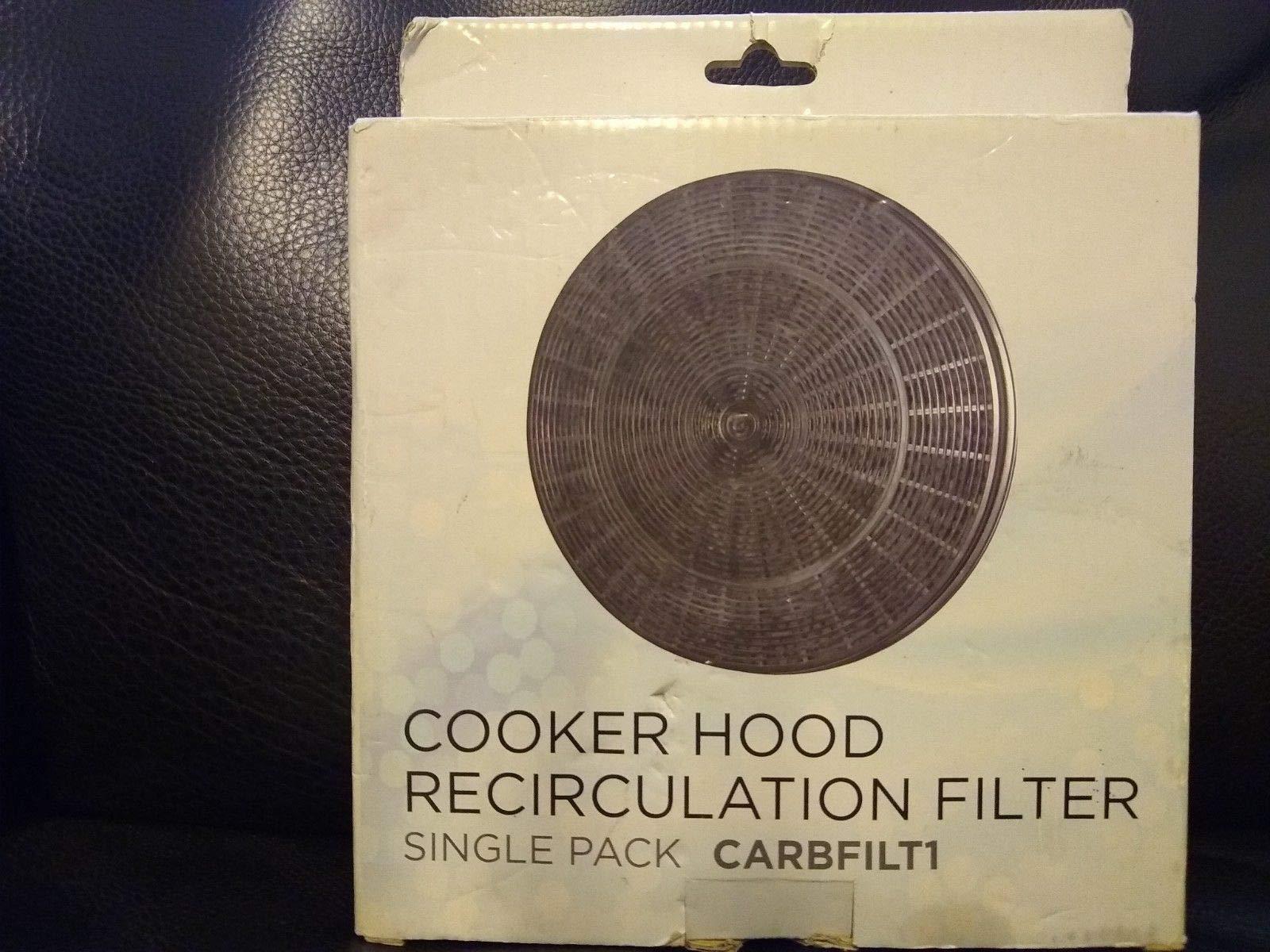 B&Q CATA Designair Cooke & Lewis CARBFILT1 - Filtro de carbón para Campana extractora (2 Unidades): Amazon.es: Jardín