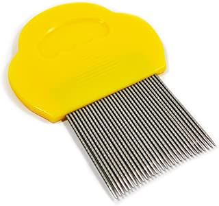Clinical Guard V7 Professional Reusable Lice Comb - Helix-Spiraled Nit Comb