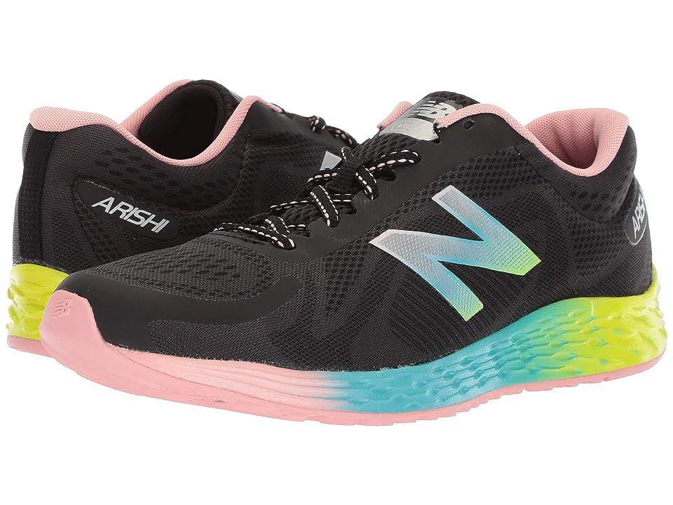 New Balance Kids KJARIv1Y (Little Kid/Big Kid) (Black/Rainbow) Kids Shoes