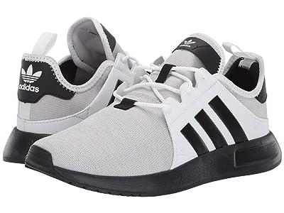 adidas Originals Kids X_PLR J (Big Kid) (Light Grey Heather/Black/White) Boys Shoes