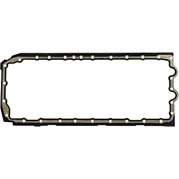 DNJ PG856 Oil Pan Gasket for 2006-2015 / BMW / 135i, 325i, 325xi, 330i, 330xi, 335i, 335i xDrive, 335is, 335xi, 525i, 525xi, 530i, 530xi, 535i, 535i xDrive, 535xi, 740i, X6, Z4 / 3.0L / DOHC / 24V