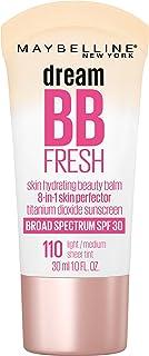 Maybelline New York Dream Fresh BB Cream, Light/Medium, 1 Fluid Ounce (Packaging May Vary)