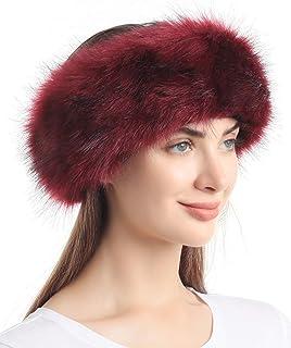 هدبند Faux Fur با الاستیک برای دستبند گوش دار زمستانی زنانه