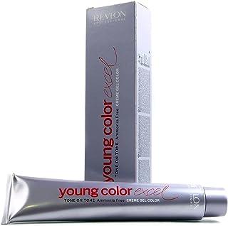 Revlon Young Color Excel, Tinte para el Cabello 101 Plata Claro - 70 ml