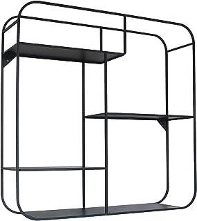 Marca Amazon - Movian Kyyvesi - Estantería para colgar 60 x 16 x 60 cm negro