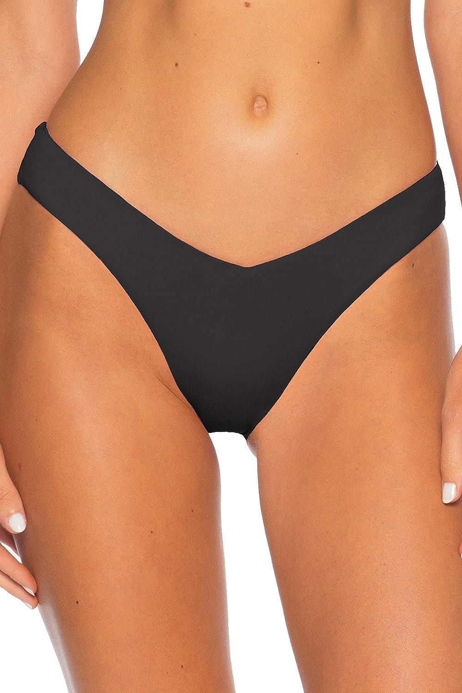 Becca by Rebecca Virtue Women's Color Code V-Front Brazilian Bikini Bottom