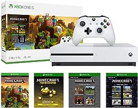 Xbox One S 1TB Console - Minecraft Creators Bundle (Renewed)
