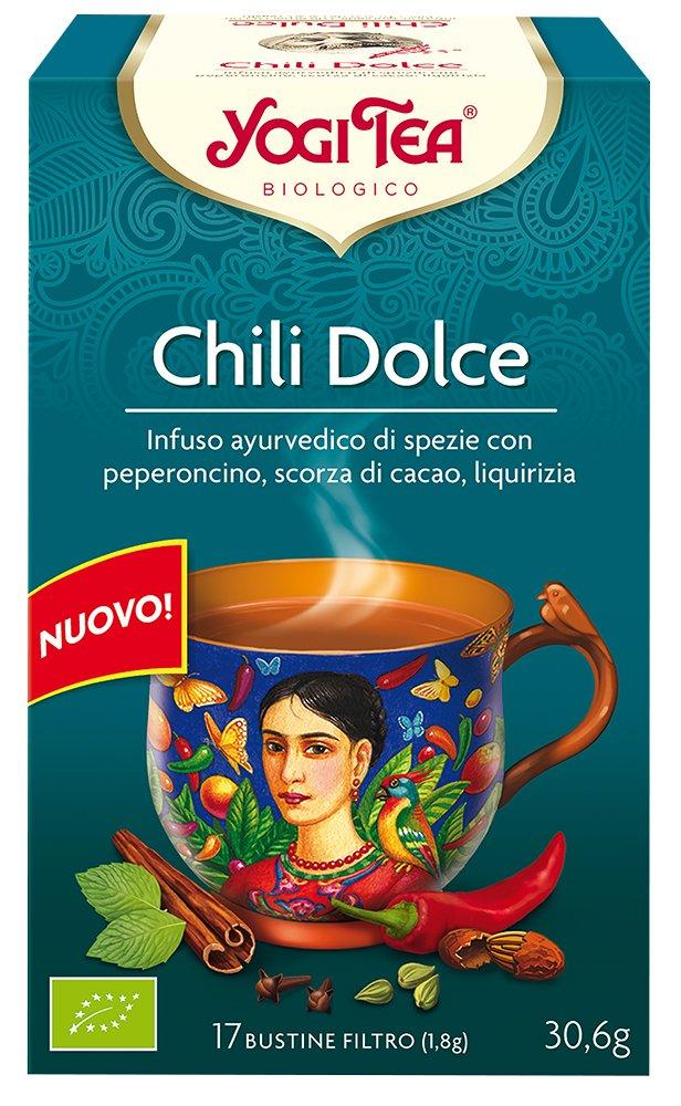 Yogi Tea Infusión de Hierbas Chili Doux - 17 bolsitas