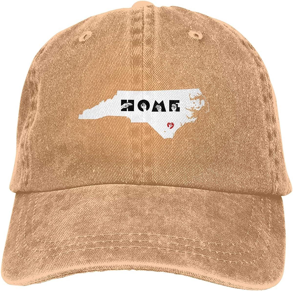 North Carolina Home State Unisex Trucker Hats Dad Baseball Hats Driver Cap