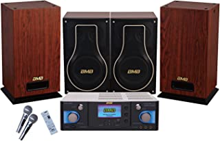 BMB Premium Package 600W Amplifier with Vocal Speakers & Subwoofer/Home Karaoke System