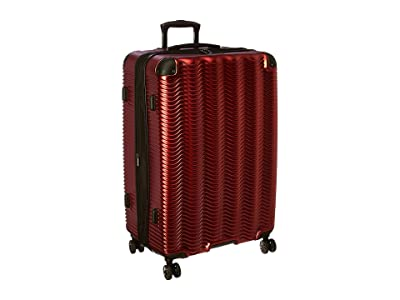 Kenneth Cole Reaction Wave Rush Collection 28 Checked Luggage (Warm Red) Luggage