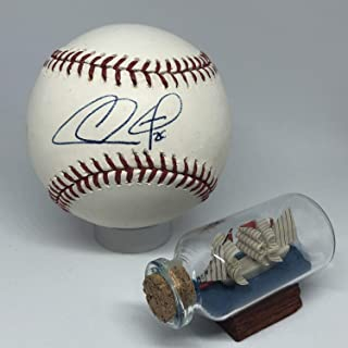 Chase Utley Autographed Signed Rawlings OML Baseball Memorabilia JSA Phillies Dodgers Hof All Star A802