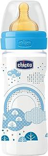 زجاجة رضاعة 250 مل لاتكس CH70720-20 للاولاد من شيكو ويل بينج - لون ازرق