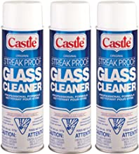castle streak proof glass cleaner