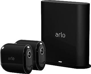 Arlo Pro 3 Spotlight Camera - 2 Camera Security System - Wireless, 2K Video & HDR, Color Night Vision, 2 Way Audio, 160° V...