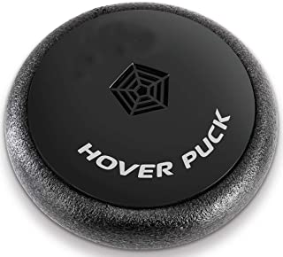 Ideas In Life Air Powered Hover Puck Disk – Battery Operated Kicking and Gliding Across Floor Foam Bumper Fun Indoor Soccer Toy for Kids