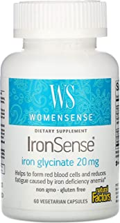 WomenSense IronSense Natural Factors 60 VCaps