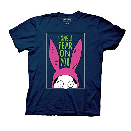 f3eb5b0dc Bob's Burgers Louise I Smell The Fear On You Mens T-Shirt