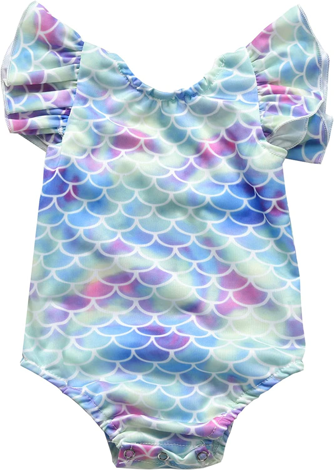 VINUOKER Baby Girl One Piece Beach OFFicial shop Toddler Swimsuit Girls Seasonal Wrap Introduction Ruffle