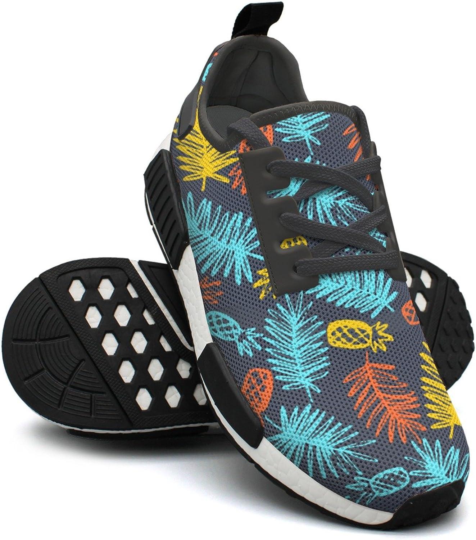 Sandales de jogging féminine de type ananas tropical tropical tropical moderne  stor rabatt