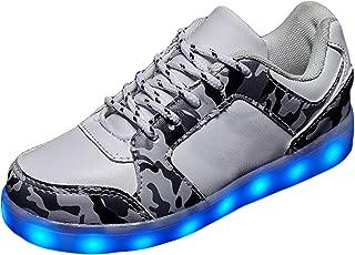 ONEYUAN Children The Polar Bear Habitat Blue Kid Casual Lightweight Sport Shoes Sneakers Walking Athletic Shoes
