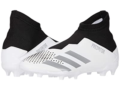 adidas Kids Predator 20.3 LL FG J Soccer (Little Kid/Big Kid) (Core Black/Footwear White/Grey Five) Kids Shoes
