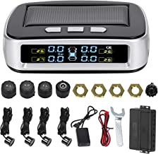 $53 » KKmoon Car Reverse Backup Radar System with Solar TPMS, 2 in 1 Wireless Tire Pressure Monitoring System and Reversing Rada...