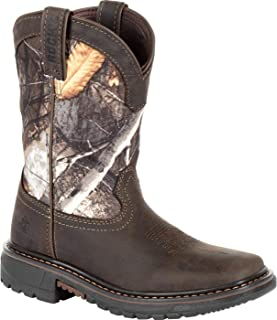 Rocky Big Kids' Ride FLX Waterproof Western Boot